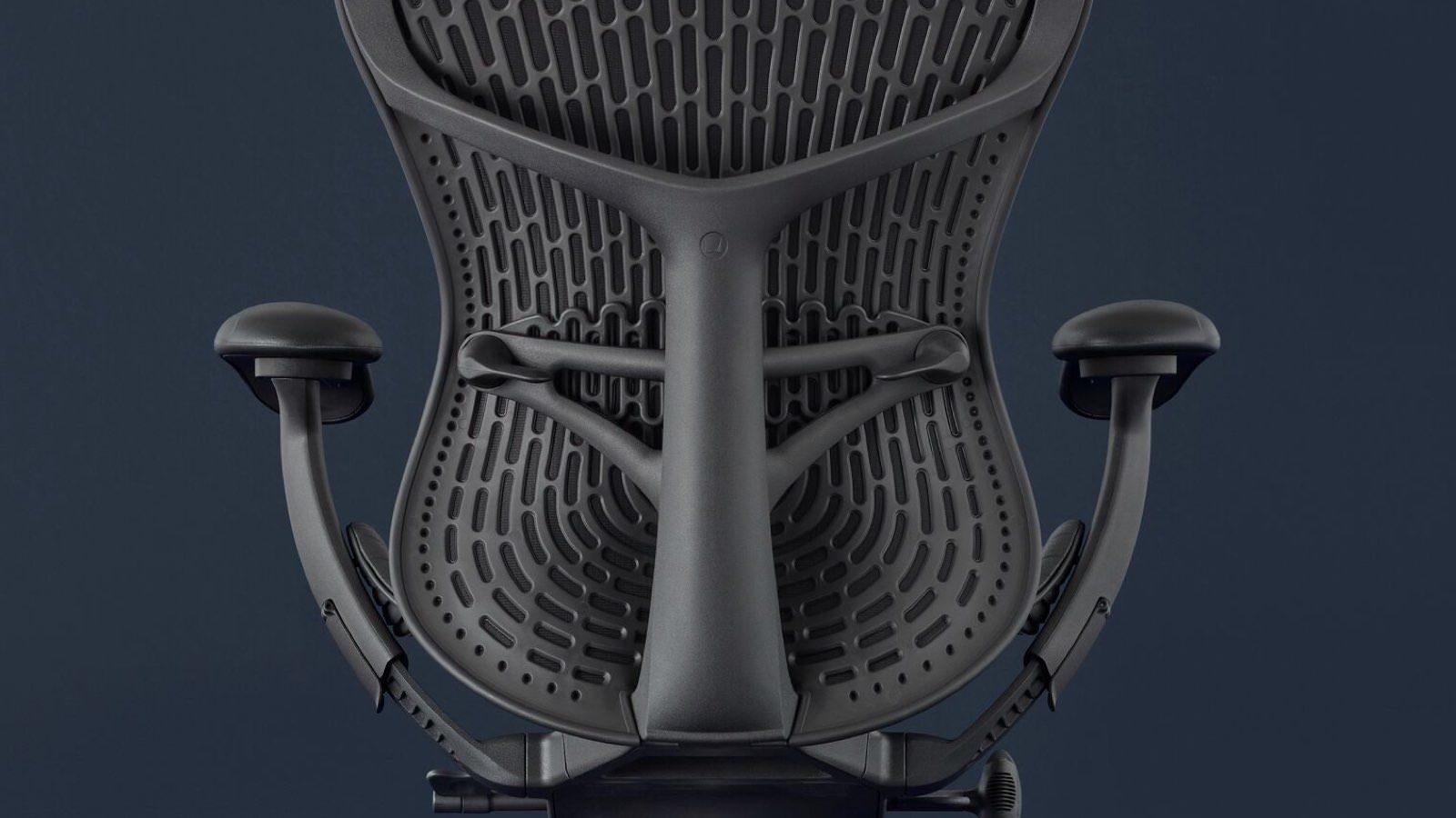 herman miller mirra2 chair back detail