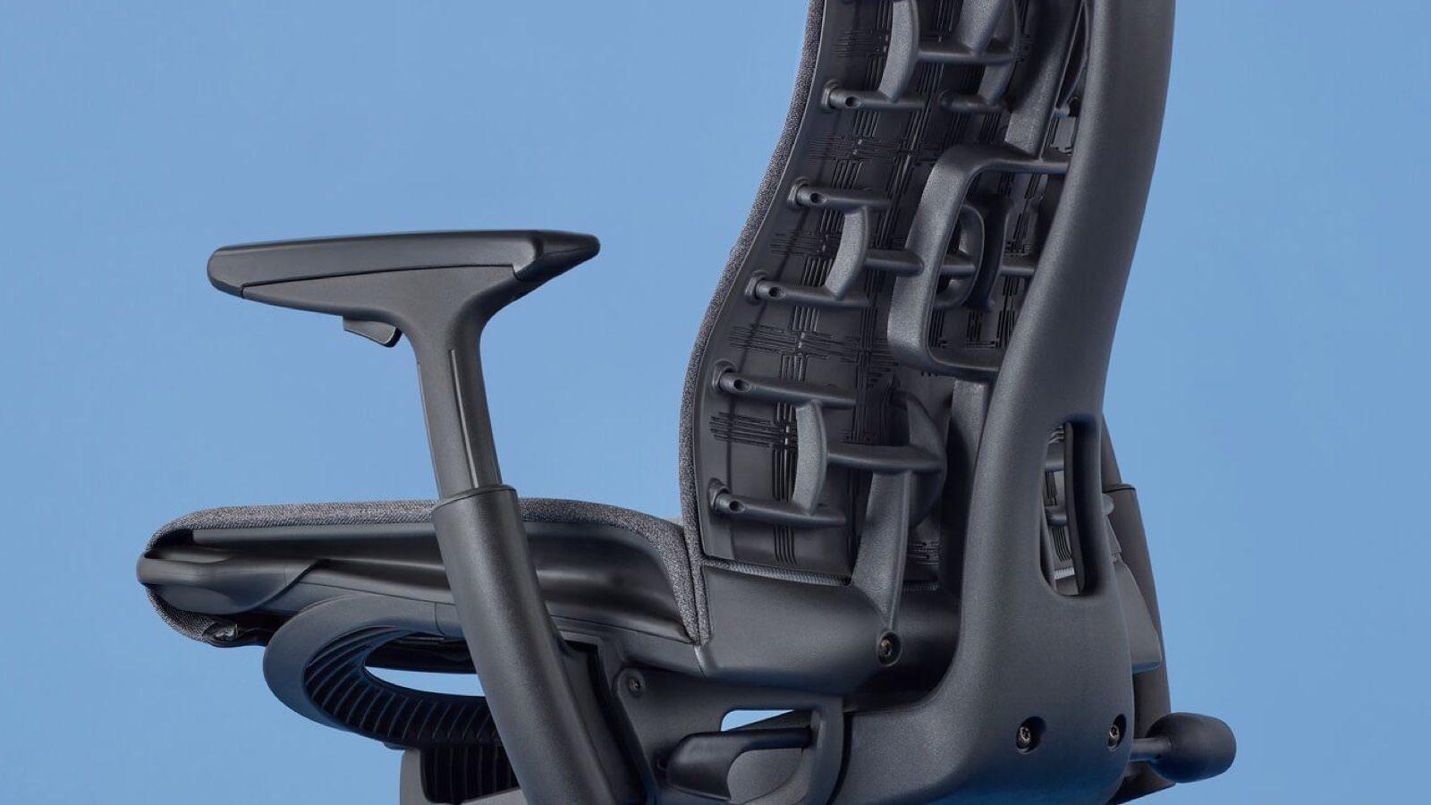 herman miller embody back ergonomic detail