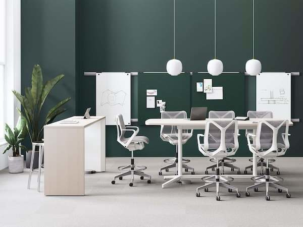 herman miller collaboration conference table seating