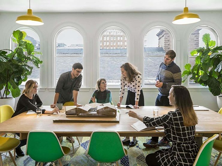 collaborative teamwork conference room furniture eames chair boston nyc providence manchester
