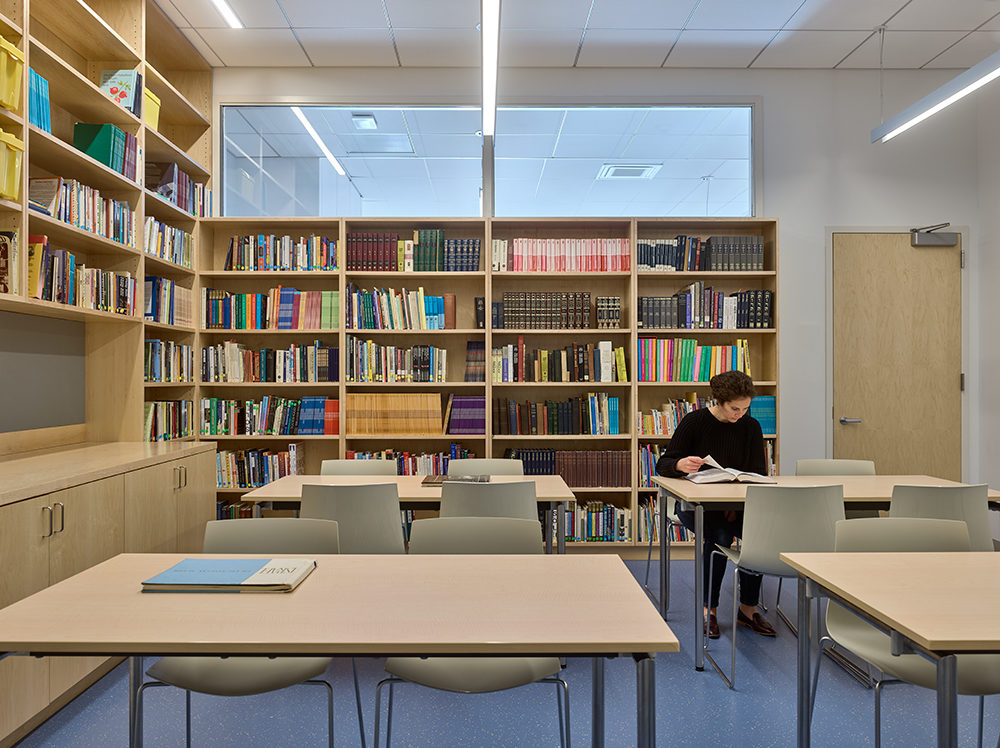 University library educational furniture services and office design