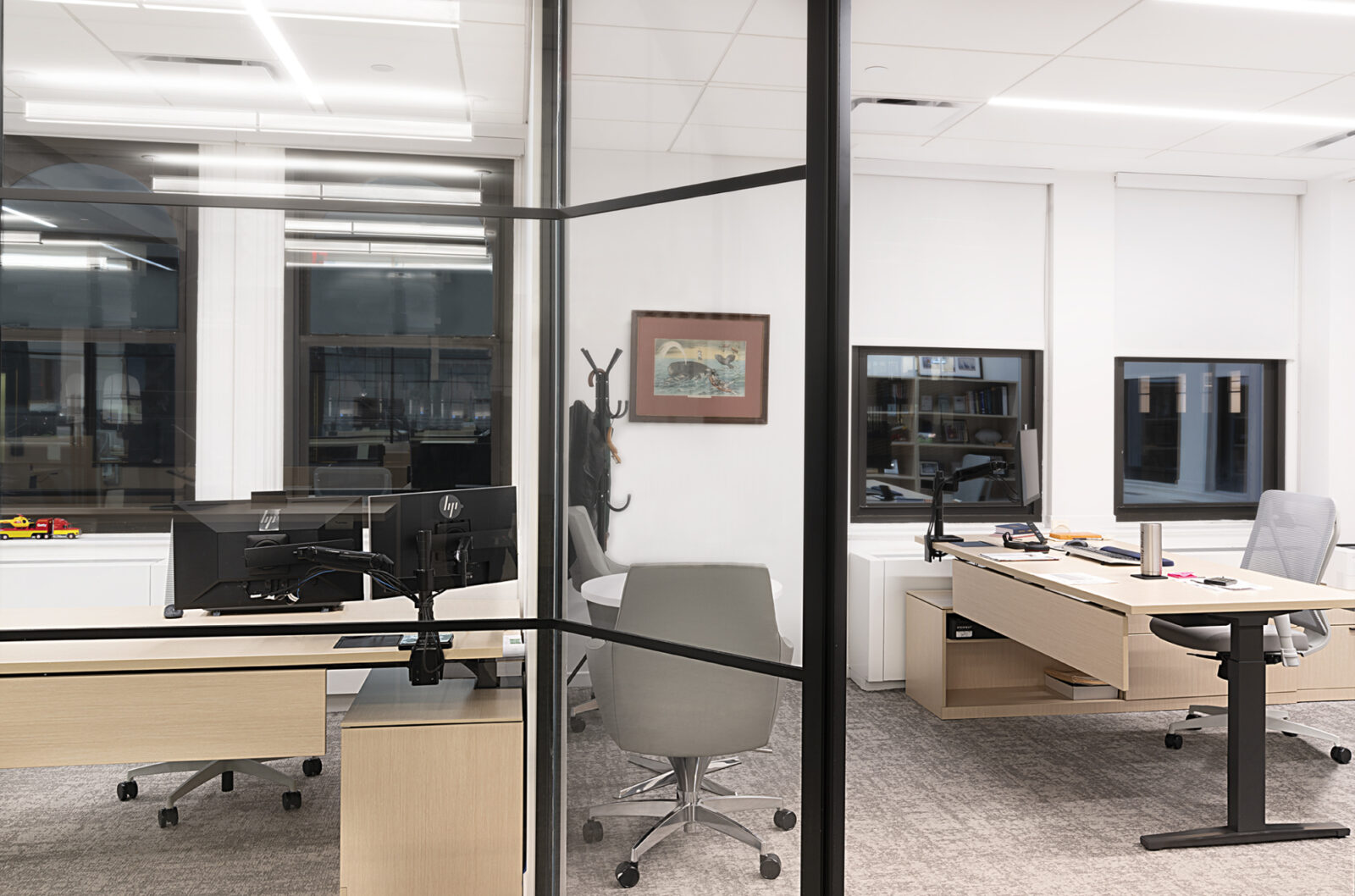 NYC Commercial private offices Herman Miller casegoods Creative Office Pavilion NYC Workplace