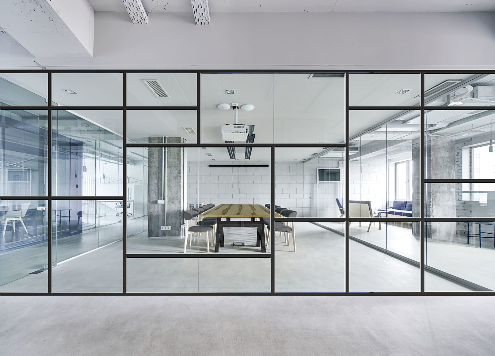 new york city nyc prefabricated interior construction introduces DIRTT office wall systems