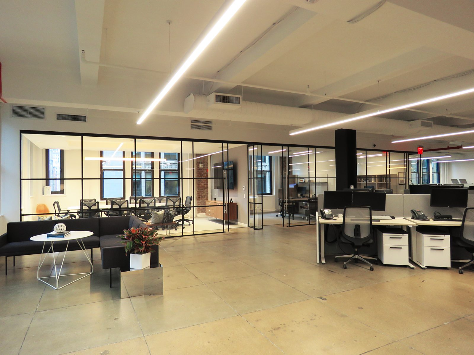 COP New York City new office workplace design nyc herman miller furniture dealership