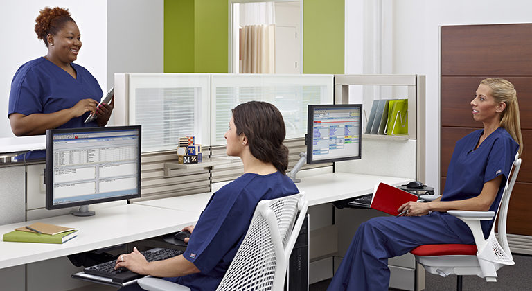 herman miller healthcare solutions furniture dealer